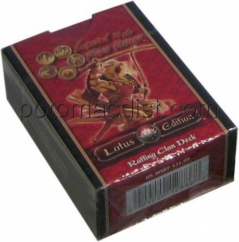 Legend of the Five Rings [L5R] CCG: Lotus Edition Ratling Starter Deck
