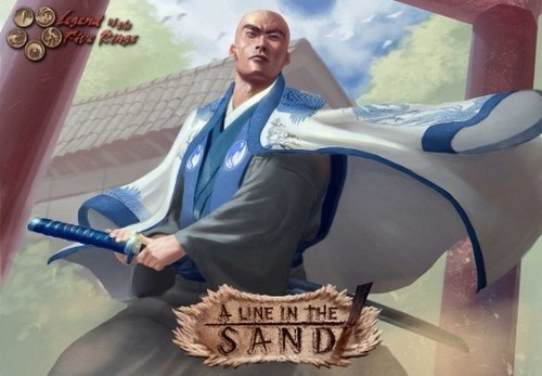 Legend of the Five Rings [L5R] CCG: A Line in the Sand Booster Box Case [5 boxes]