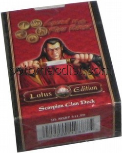 Legend of the Five Rings [L5R] CCG: Lotus Edition Scorpion Starter Deck