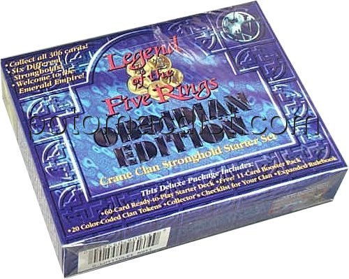 Legend of the Five Rings [L5R] CCG: Obsidian Crane Starter Deck