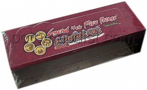 Legend of the Five Rings [L5R] CCG: Perfect Cut Starter Deck Box [without HT card]