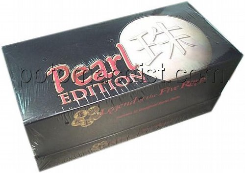 Legend of the Five Rings [L5R] CCG: Pearl Starter Deck Box