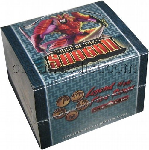 Legend of the Five Rings [L5R] CCG: Rise of the Shogun Booster Box