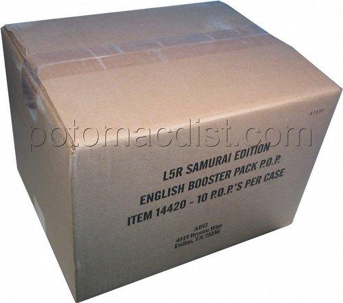Legend of the Five Rings [L5R] CCG: Samurai Edition Booster Box Case [10 boxes]