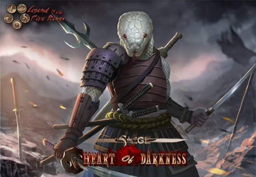 Legend of the Five Rings [L5R] CCG: Siege - Heart of Darkness Set Case [5 sets]