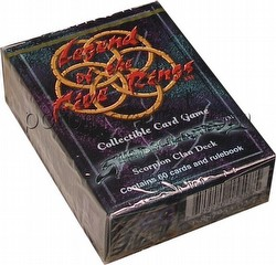 Legend of the Five Rings [L5R] CCG: Shadowlands Scorpion Starter Deck