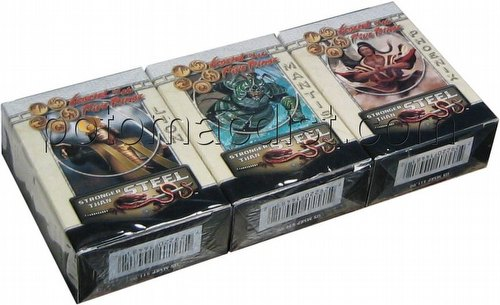 Legend of the Five Rings [L5R] CCG: Stronger Than Steel Starter Deck Set [Lion, Mantis, Phoenix]