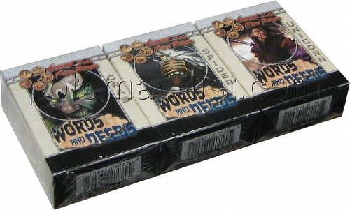 Legend of the Five Rings [L5R] CCG: Words and Deeds Starter Deck Set [Crab, Spider, Unicorn]
