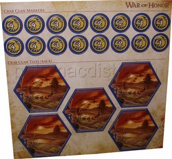 Legend of the Five Rings [L5R] CCG: War of Honor Crab Clan Tiles and Markers