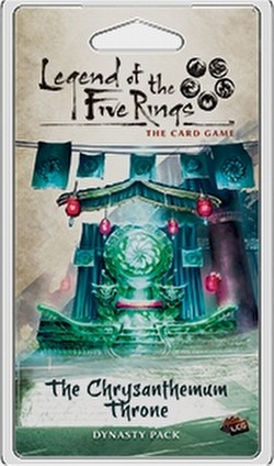 Legend of the Five Rings (L5R) LCG: Imperial Cycle - The Chrysanthemum Throne Dynasty Pack