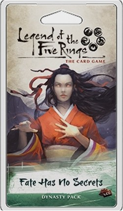 Legend of the Five Rings (L5R) LCG: Imperial Cycle - Fate Has No Secrets Dynasty Pack