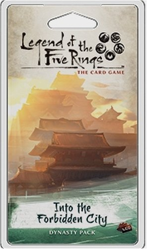 Legend of the Five Rings (L5R) LCG: Imperial Cycle - Into the Forbidden City Dynasty Pack