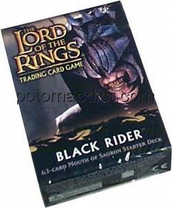 Lord of the Rings Trading Card Game: Black Rider Mouth of Sauron Starter Deck