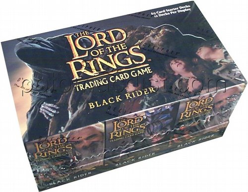 Lord of the Rings Trading Card Game: Black Rider Starter Deck Box