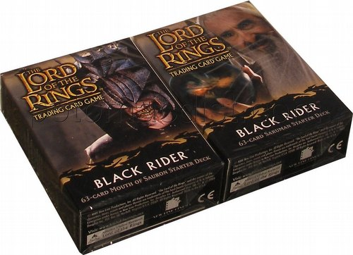 Lord of the Rings Trading Card Game: Black Rider Starter Deck Set [2 decks]