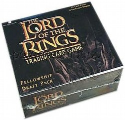Lord of the Rings Trading Card Game: Fellowship of the Ring Draft Pack Box