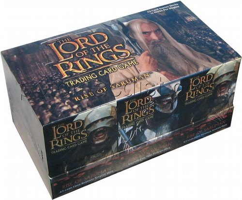 Lord of the Rings Trading Card Game: Rise of Saruman Starter Deck Box