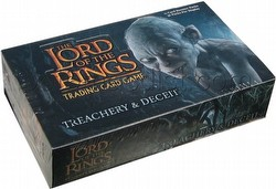 Lord of the Rings Trading Card Game: Treachery & Deceit Booster Box