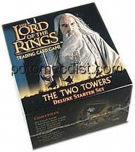 Lord of the Rings Trading Card Game: Two Towers Deluxe Starter Set