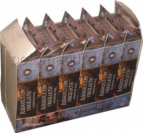 The Lord of the Rings LCG: Against the Shadow Cycle - Assault on Osgiliath Adv. Pack Box [6 packs]