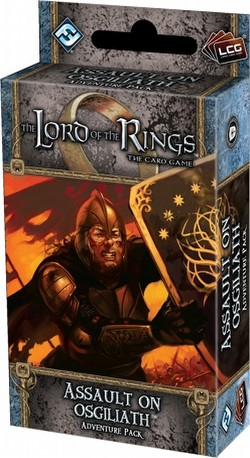 The Lord of the Rings LCG: Against the Shadow Cycle - Assault on Osgiliath Adventure Pack