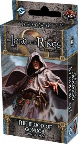 The Lord of the Rings LCG: Against the Shadow Cycle - The Blood of Gondor Adv. Pack Box [6 packs]
