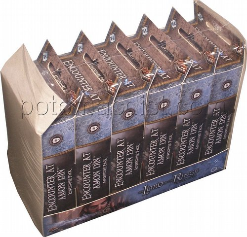 The Lord of the Rings LCG: Against the Shadow Cycle - Encounter at Amon Din Adv. Pack Box [6 packs]