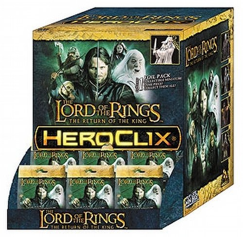 HeroClix: Lord of the Rings - Return of the King Gravity Feed Box