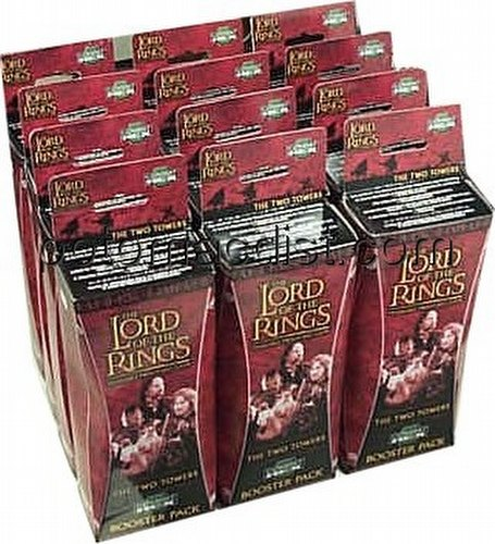 Lord of the Rings Miniatures Game [TMG]: Two Towers Booster [12 boosters]