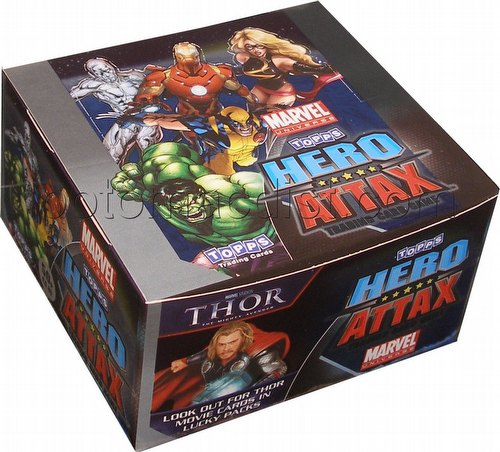 Marvel Universe Hero Attax: Base Set Booster Box