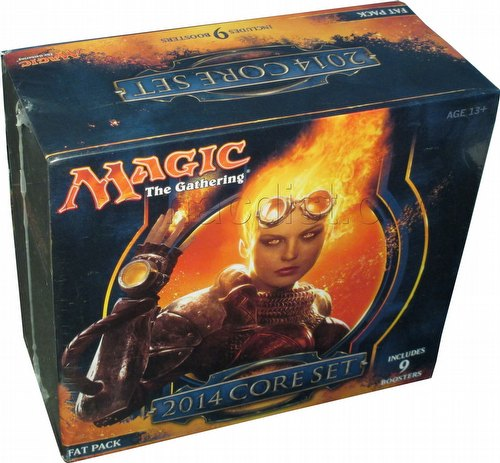 Magic the Gathering TCG: 2014 Core Set Fat Pack Box