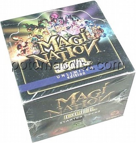 Magi-Nation CCG: Duel Starter Deck Box [Unlimited]