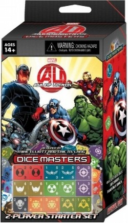 Marvel Dice Masters: Avengers - Age of Ultron Dice Building Game Starter Set Box