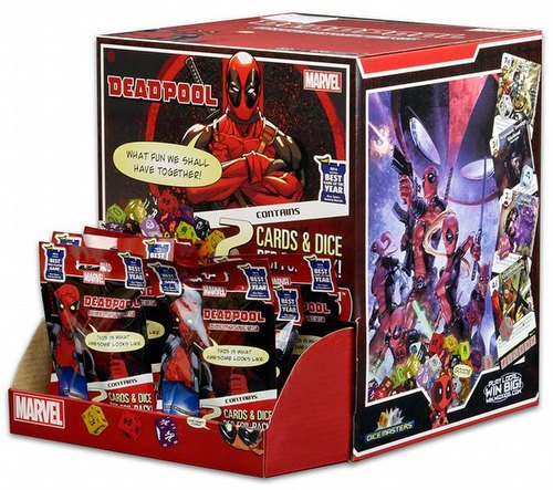 Marvel Dice Masters: Deadpool Dice Building Game Gravity Feed Box