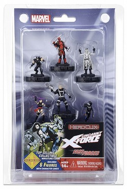 HeroClix: Marvel Deadpool and X-Force Fast Forces Pack