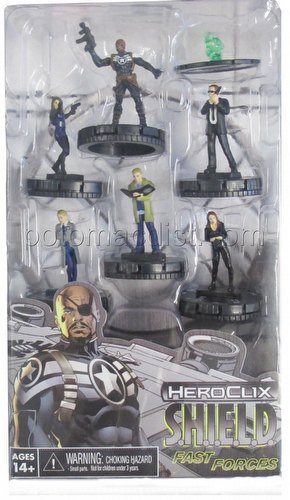 HeroClix: Marvel S.H.I.E.L.D. Fast Forces Pack