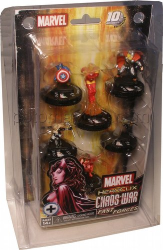 HeroClix: Marvel Chaos War Fast Forces Pack