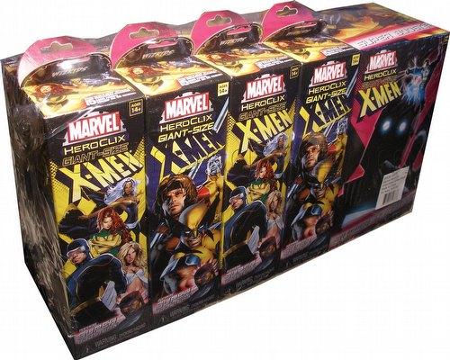 HeroClix: Marvel Giant-Sized X-Men Brick (Half Case) [8 regular boosters/1 super booster]