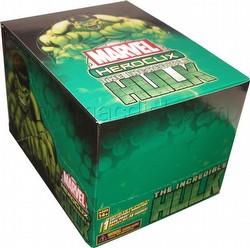HeroClix: Marvel Incredible Hulk Counter-Top Display Box