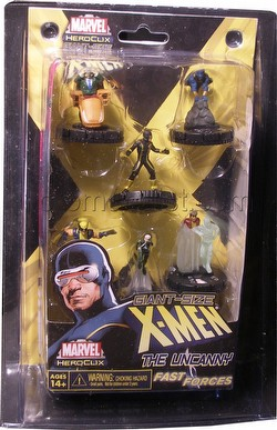 HeroClix: Marvel Giant-Sized The Uncanny X-Men Fast Forces Pack