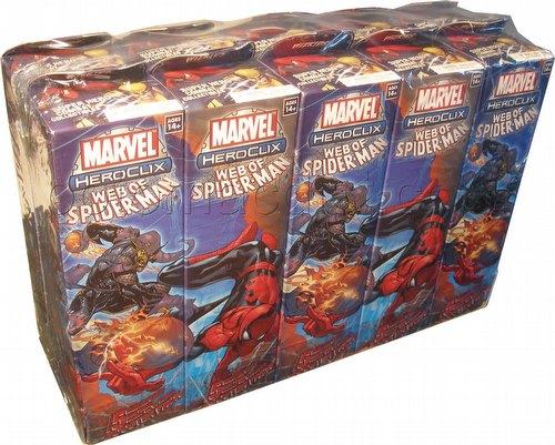 HeroClix: Marvel Web of Spider-Man (Spiderman) Brick (Half Case) [10 boosters]