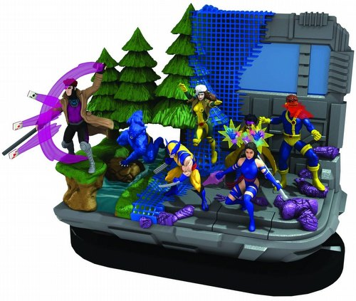 HeroClix: Marvel Wolverine and the X-Men Brick [8 regular boosters/1 super boosters]
