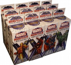 HeroClix: Marvel Xplosion [12 boosters]