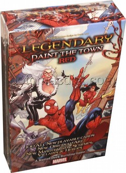 Marvel Legendary Deck Building Game Spider-Man Paint the Town Red Expansion Box