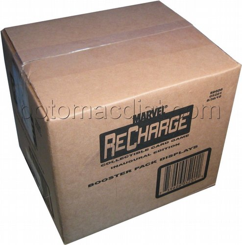Marvel Recharge: Series 1 Booster Box Case [10 boxes]