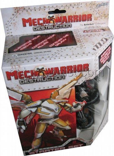 MechWarrior Collectible Miniatures Game [CMG]: Age of Destruction Starter