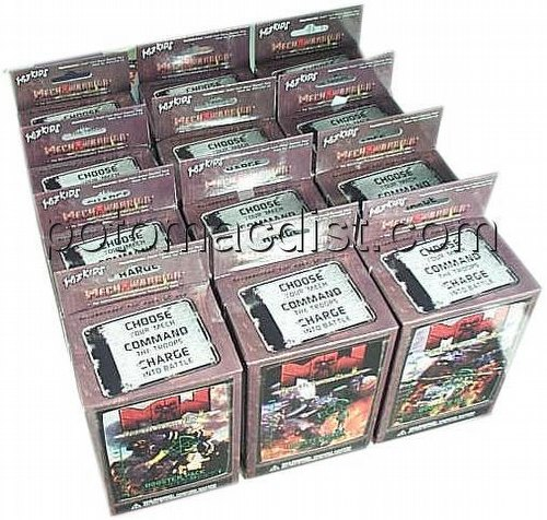 MechWarrior Collectible Miniatures Game [CMG]: Death From Above [12 Boosters]