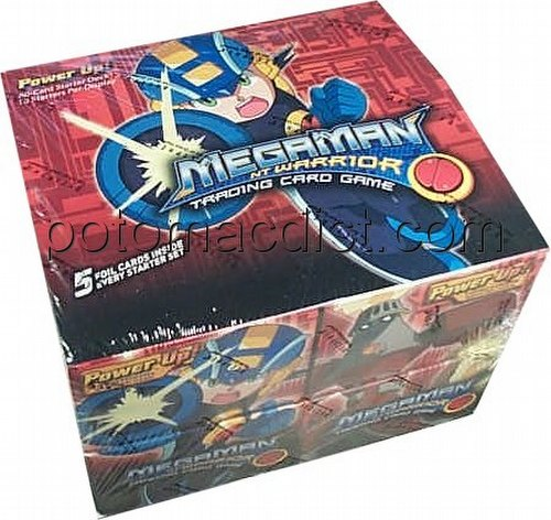 MegaMan Trading Card Game [TCG]: Power Up Starter Deck Box