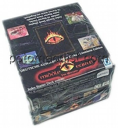 Middle Earth Collectible Card Game [CCG]: The Wizards Starter Deck Box [Limited/German]