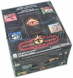 Middle Earth Collectible Card Game [CCG]: The Wizards Starter Deck Box [Limited]